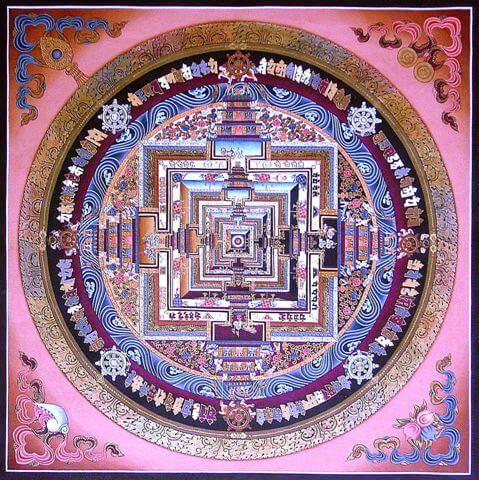 symboles des mandalas