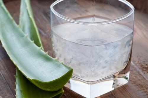 Le jus d'aloe vera est un puissant dépuratif.