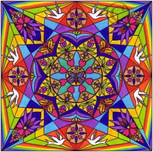 les couleurs dans les mandalas