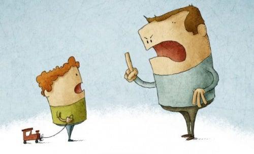 dispute père-enfant