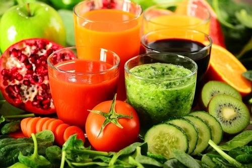 Des boissons de désintoxication pour perdre du poids