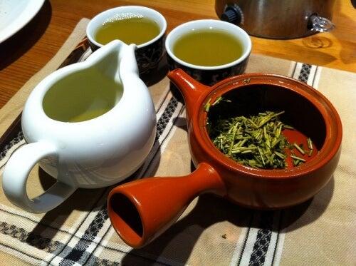 Le thé pour les pumons.