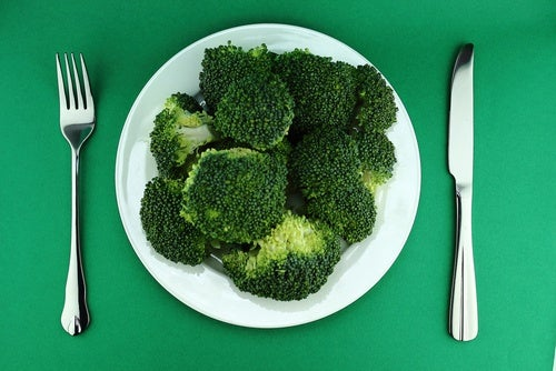Assiette de brocoli