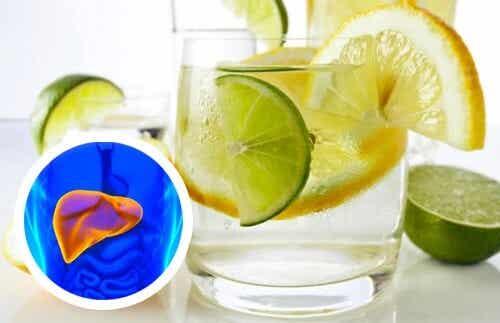 Prendre soin de votre coeur et de votre foie grâce à l'eau citronnée