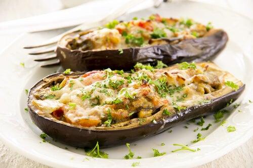 2 recettes d'aubergines farcies