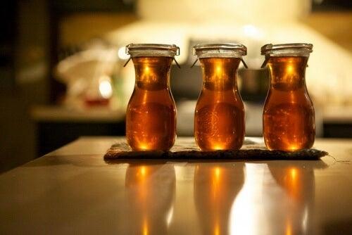 le miel de romarin