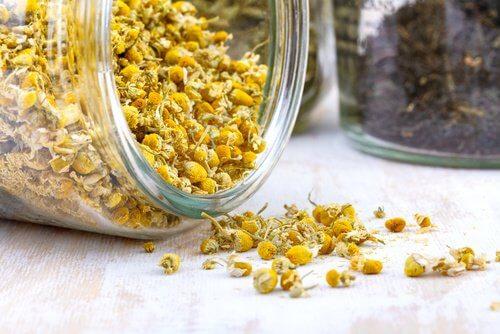 meilleurs remèdes naturels contre la diverticulite : camomille