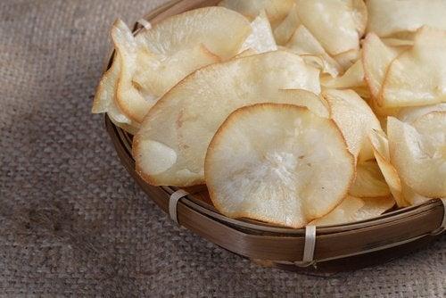 Chips de yucca