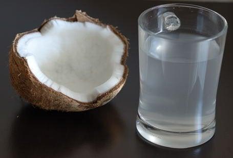 L'action de l'eau de coco sur l'organisme