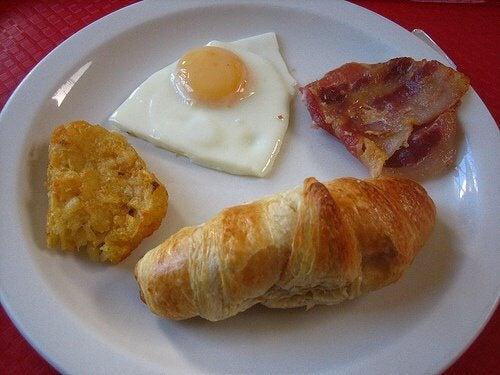 graisses du petit déjeuner