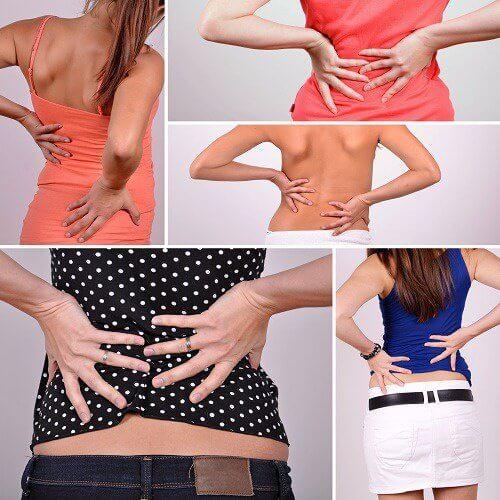 symptômes des douleurs de la zone lombaire