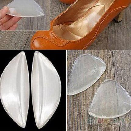 évitez les douleurs aux pieds dues aux chaussures avec des semelles en gel