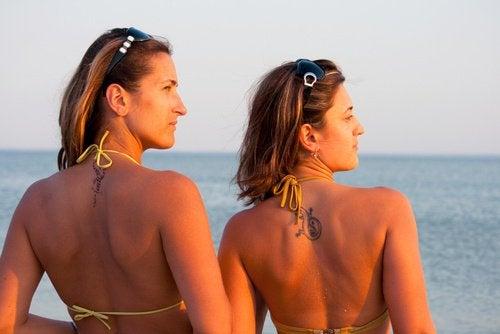 Bronzer affecte le soin de la peau