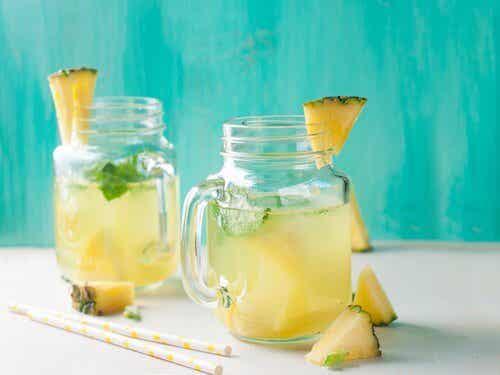 L'eau d'ananas pour soigner la rétention d'eau