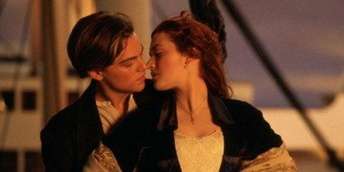 Photo de Rose et Jack dans Titanic