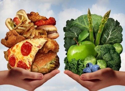 Notre esprit et l'alimentation.