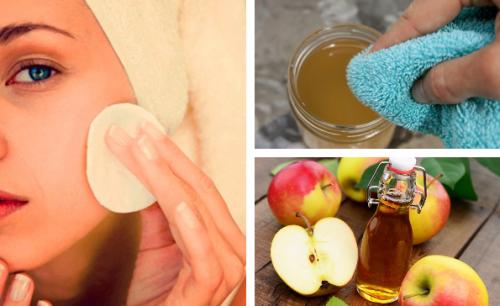 Les bienfaits du vinaigre de pomme pour le visage
