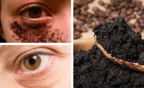 Comment préparer une crème naturelle au café pour le contour des yeux