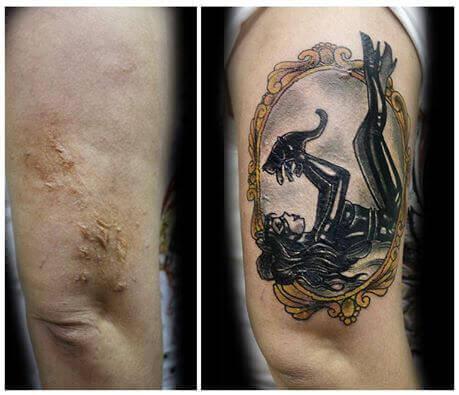 Les tatouages des histoires.
