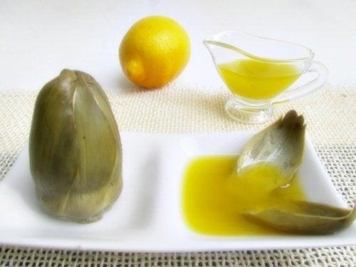 artichaut citron