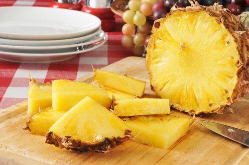 régime de désintoxication à l'ananas