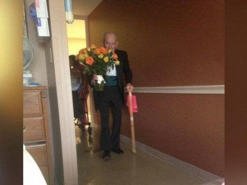 L'arrivée à l'hôpital.