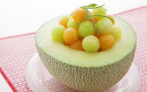 Remède à base de melon.