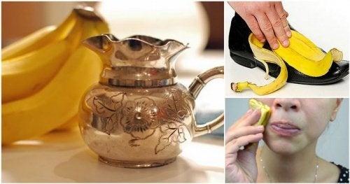 Les 10 usages incroyables de la peau de banane