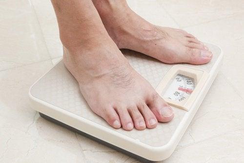 Notez l'évolution de votre perte de poids.