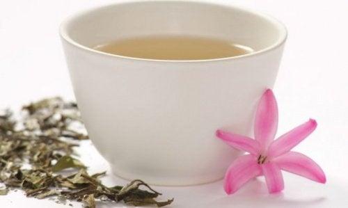 Le thé blanc pour combattre l'anxiété