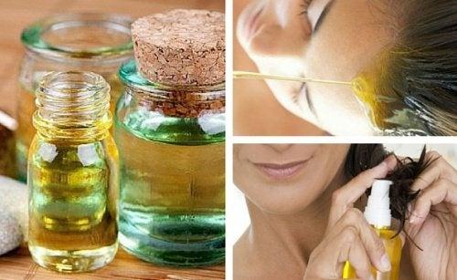 7 huiles naturelles pour stimuler la pousse des cheveux
