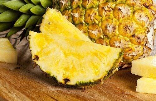 L'ananas pour mincir.