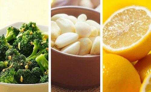 Brocoli, citron et ail pour prendre soin de votre peau et de votre santé