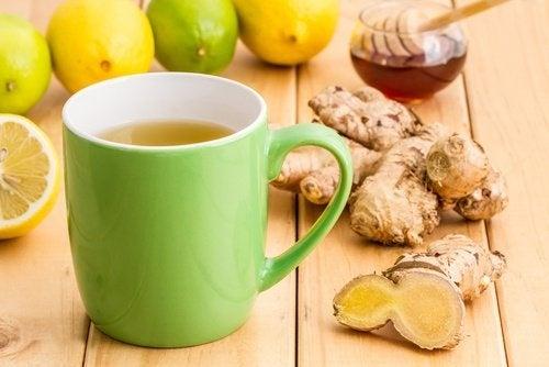 Cannelle gingembre et miel