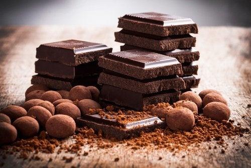 le chocolat noir pour se libérer de la dépression