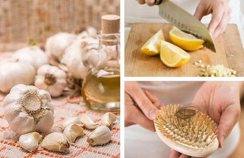 Comment préparer de l'huile d'ail pour freiner la chute des cheveux