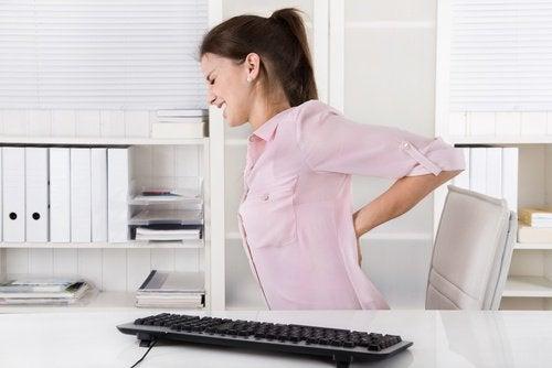 problème de santé des reins : Douleur de dos
