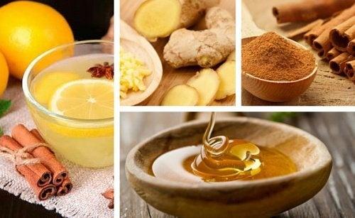 Les bienfaits de l'infusion de gingembre, cannelle et miel