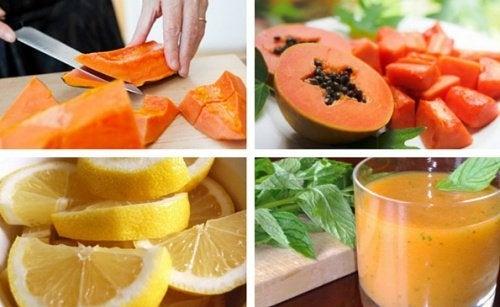 jus de citron et estomac