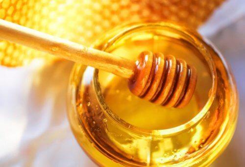 masque de miel