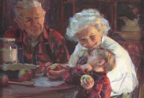 Selon une étude scientifique, s'occuper de ses petits-enfants aide à prévenir la démence