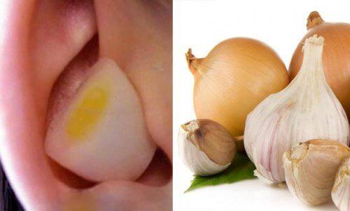 Pourquoi est-il bon de se mettre un morceau d'ail ou d'oignon dans l'oreille?