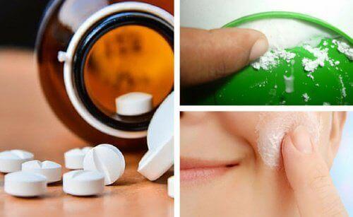 Embellir la peau du visage avec 3 masques à l'aspirine