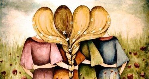 illustration des frères et sœurs