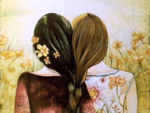 Les frères et sœurs seront toujours unis par le cœur