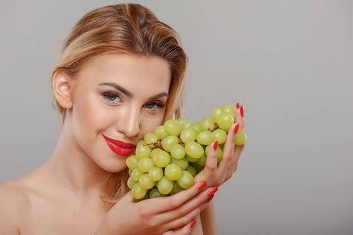 Traitement aux raisins