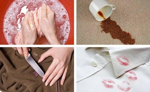 7 astuces efficaces pour enlever les taches des vêtements
