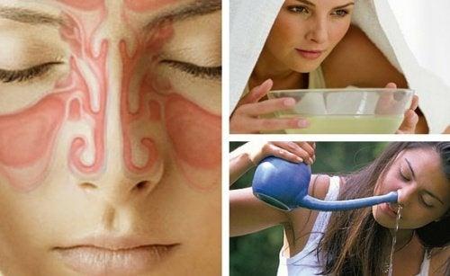 9 remèdes naturels pour soulager la sinusite