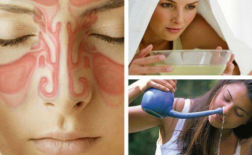 9 remèdes maison pour soulager la sinusite