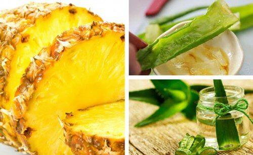 Découvrez comment perdre du poids avec l'aloe vera et l'ananas